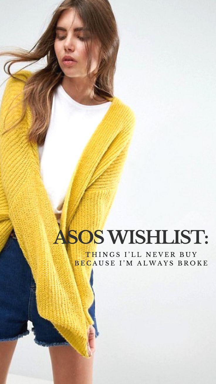 Asos wishlist things i ll never buy because i m always broke