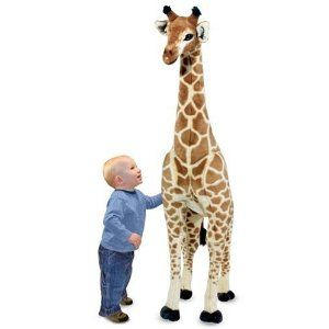 BEST BUY!! Melissa  Doug Giraffe Plush CHEAP