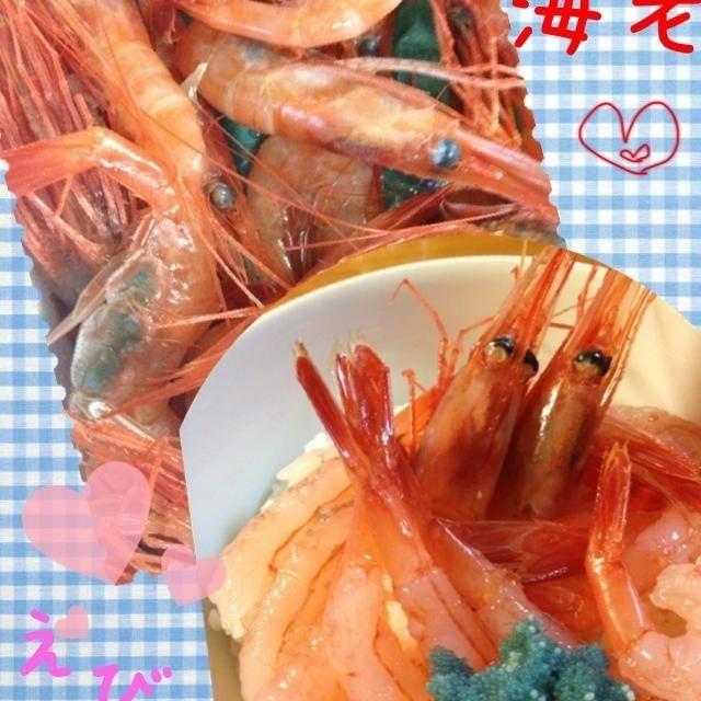 週末甘エビ祭りに行ってきました。甘エビ丼作りました~ とろけるぅ~ - 9件のもぐもぐ - 甘エビ祭り〜 by pomi83
