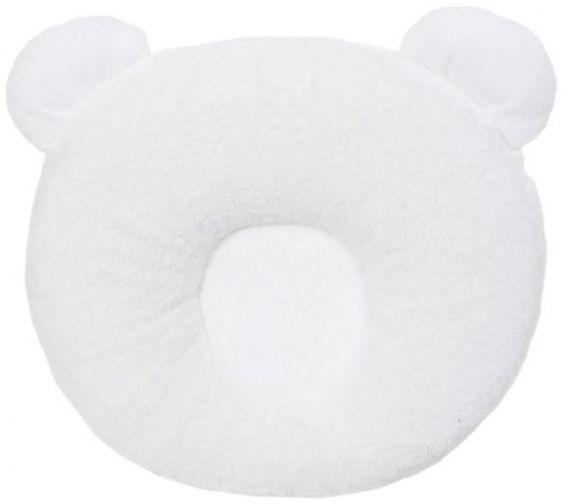P'TIT PANDA - Candide - Coussin ergonomique qui soutient la tête de bébé pour qu'elle garde une forme bien ronde. Il permet de surélever très légèrement la tête de bébé et de la positionner correctement pendant son sommeil. Il se transporte facilement et peut être utilisé pour tous les couchages de bébé. Pour un enfant de la naissance. Prix: 19.95CHF