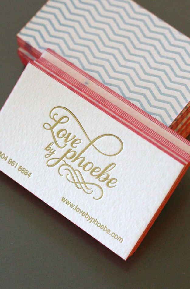 137 best Business Cards Letterpressed or Debossed images on ...