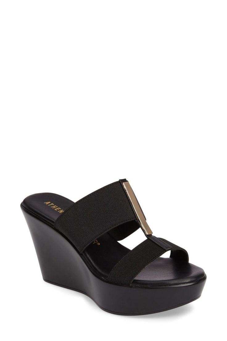 Mocha Platform Wedge Sandal (Women)