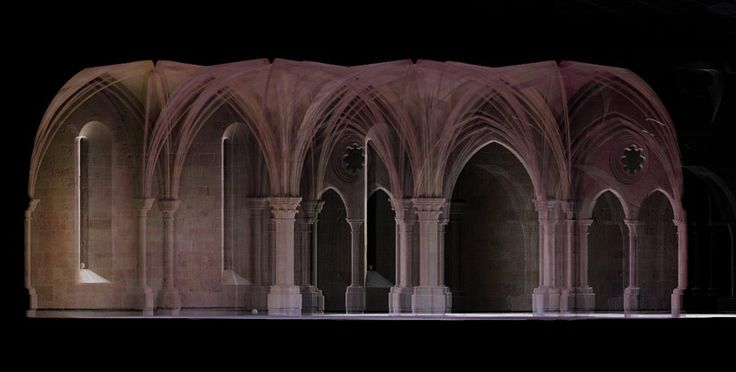 architecture reconstructed with 3D scanning by scott page