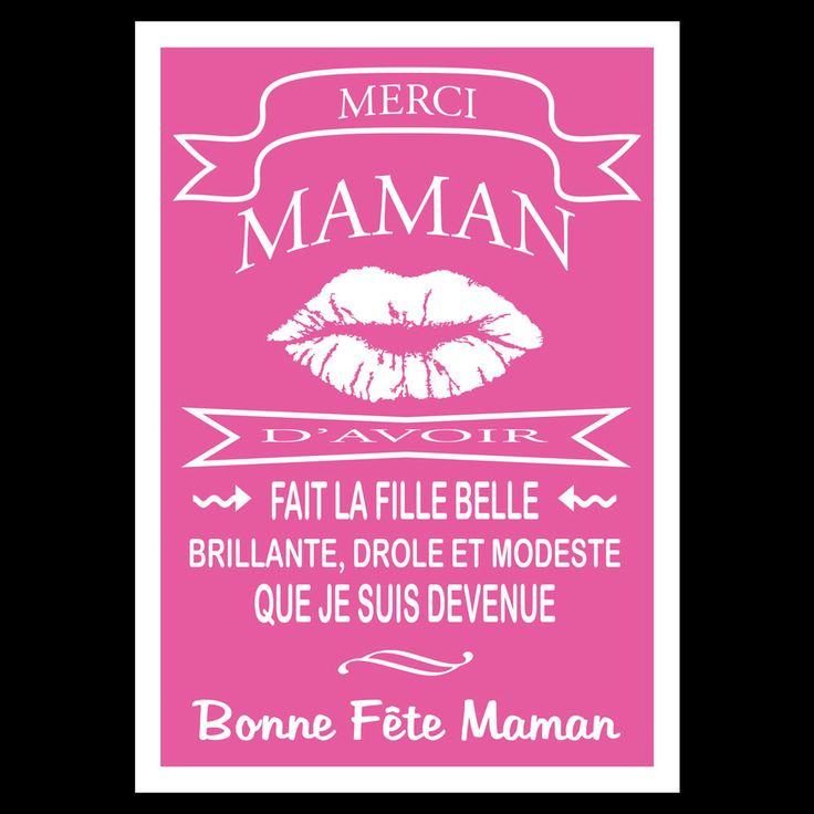 8 best maman images on pinterest happy name day mother - Bonne fete humour ...