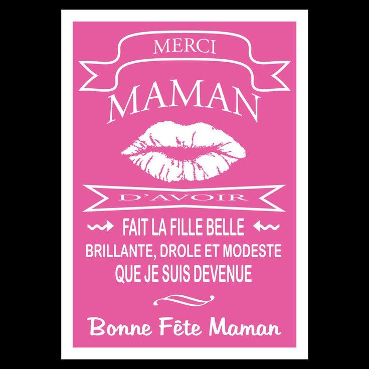 """Carte """"Bonne Fête Maman"""" : Cartes par creerpourvous"""