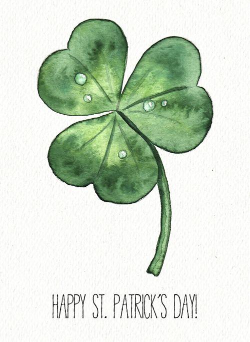 St. Patrick's day illustration