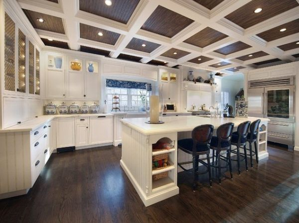 615 best Coffered Ceiling Ideas and Design images on Pinterest ... C Offered Kitchen Ceiling Ideas on coffered ceiling paint ideas, ceiling beams ideas, ceiling design ideas, tray ceiling decorating ideas, ceiling trim ideas, ceiling finishes ideas,