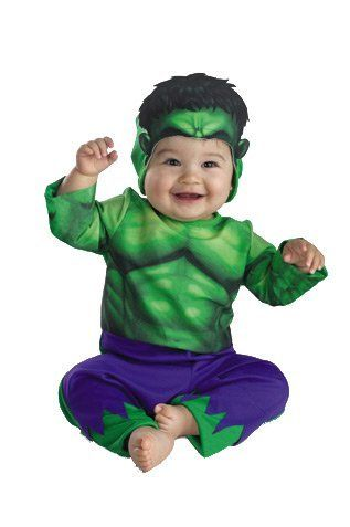 #Halloween Costume Idea for the baby: Baby Hulk Costume - Buycom