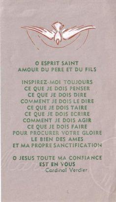 esprit saint   Prières et méditations à la louange du Saint-Esprit
