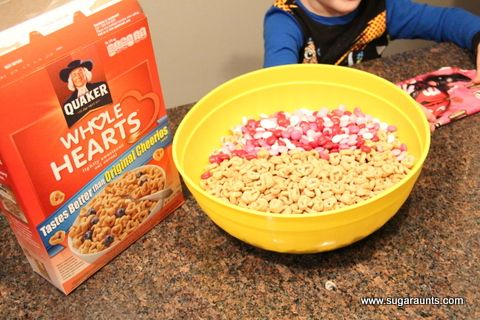 valentine's day snack mix recipes