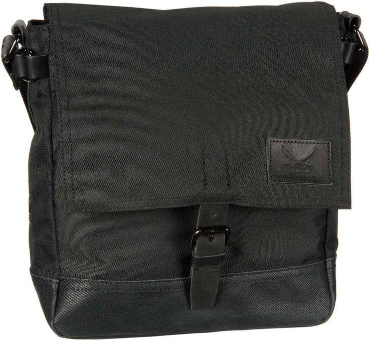 Sansibar Tornado Flap Bag Hoch Black - Umhängetasche