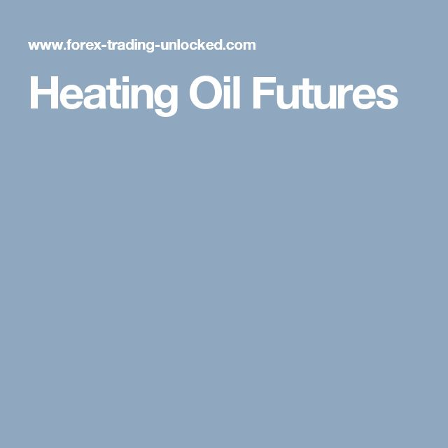 Heating Oil Futures