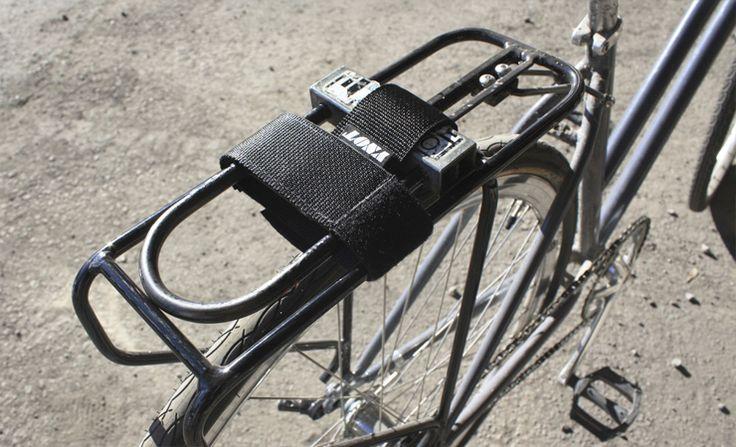 YNOT Cycle   Rack Mounted U-Lock Holster