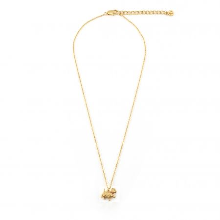 Westie Pendant (Gold)