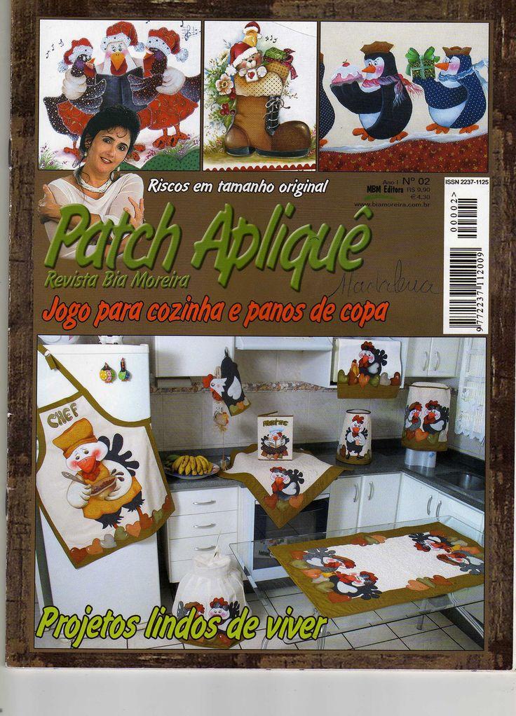 Patch Aplique. -- Applique patterns and ideas