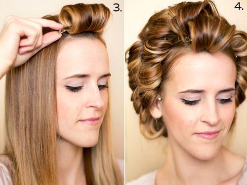 How to get Retro Curls.