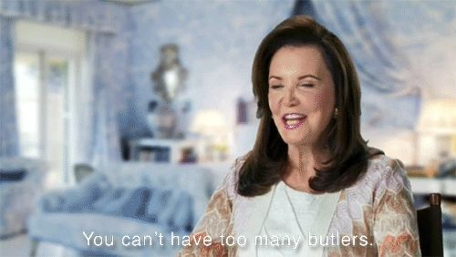 """""""You can't have too many butlers.""""  8 Life Lessons from Southern Charm's Patricia Altschul – Vogue"""