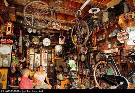If you are looking for some antiques, Penang is the place to go.