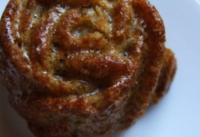 Almás-zabpelyhes muffin