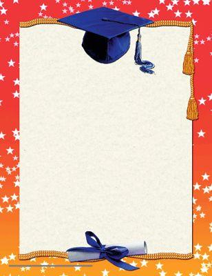 Free Graduation Border Clip Art | borders for graduation - borders graduation clip art