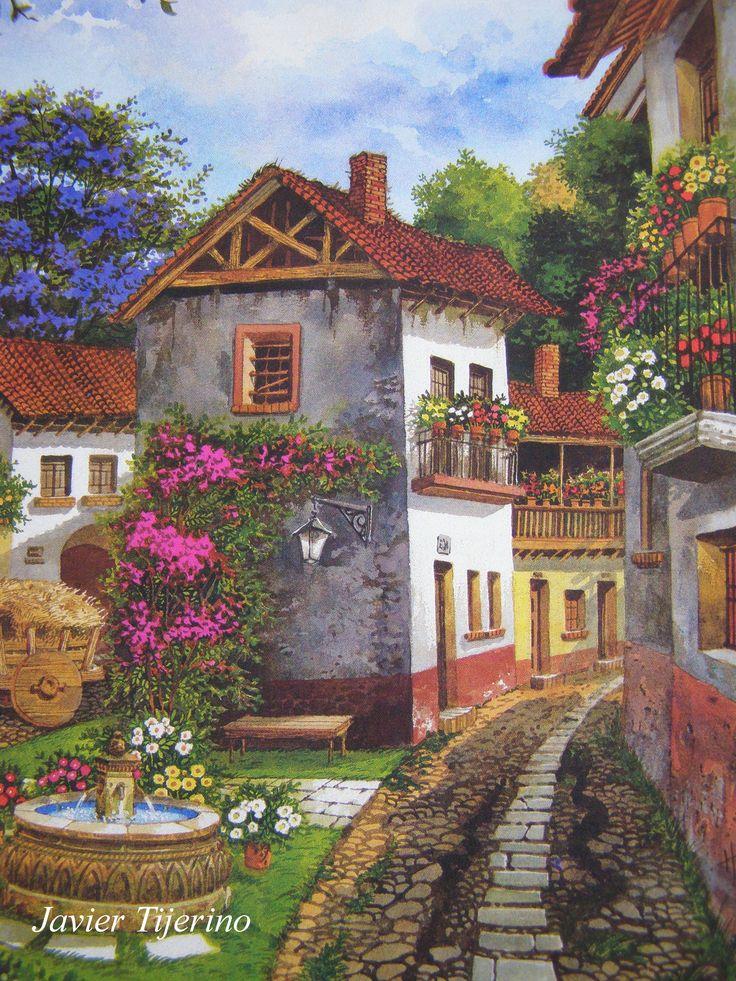 El sueño de un Pintor. Tomada de una Postal.
