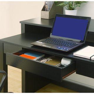 Furniture Of America Quinn Black 2 In 1 Office Writing Desk By Furniture Of  America