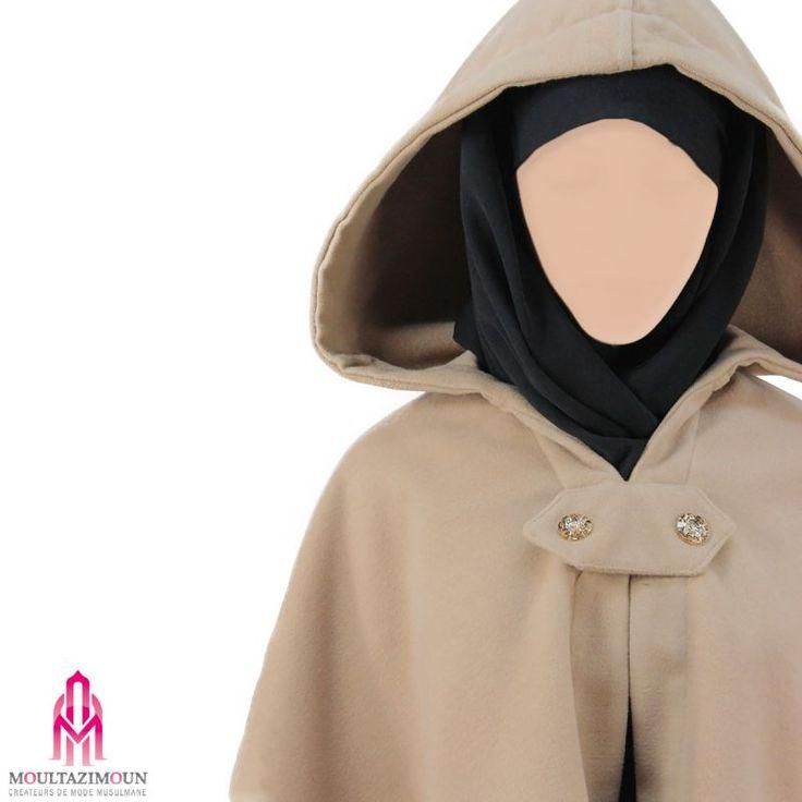 Mini Cape - Al Moultazimoun #Overhead #cape #khimar #jilbab #jilbab #best #abaya #modestfashion #modestwear #muslimwear #jilbabi #outfit #hijabi #hijabista #long #dress #mode #musulmane #clothing