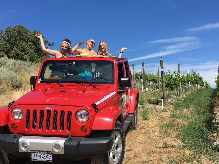 Jeep in Okanagan