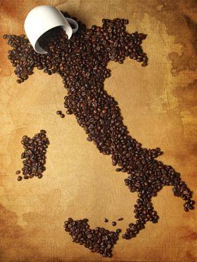 The Origin of Coffee - stock photo