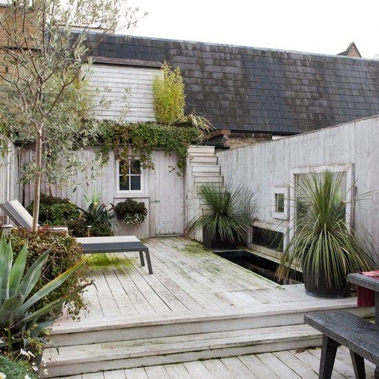 Decked roof terrace garden   Traditional garden design ideas   Garden design   PHOTO GALLERY   Housetohome.co.uk