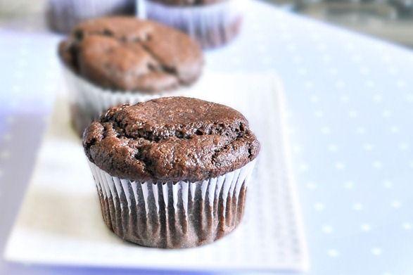 sugarfree chocolate cupcakes.