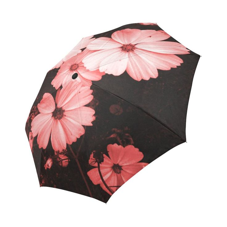 Beautiful Pink Cosmos Umbrella Auto-Foldable Umbrella