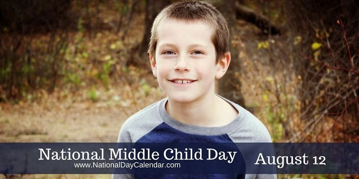 National Middle Child Day August 12