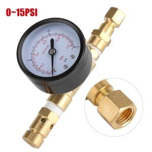 Canada: Adjustable Pressure Relief Valve & Gauge Assembly [Spunding Valve] – CDN$25.99 + Free Shipping – US Option Available #homebrew