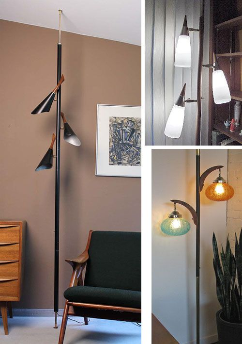 the tension pole lamp - Pole Lamps