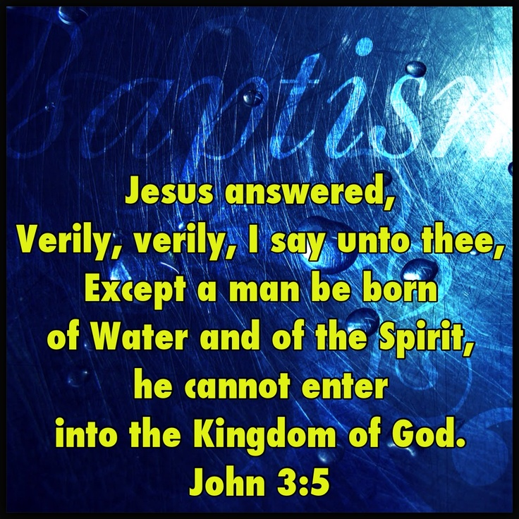 pentecostal baptism words