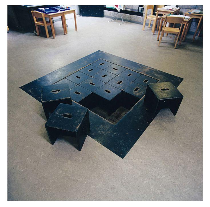 Herman Hertzberger. Montessori School, Delft. 1960-1966-1981.