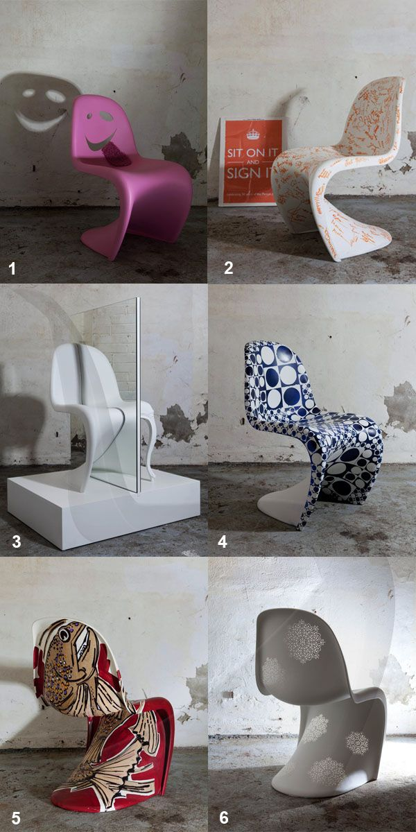 Panton chair,vitra