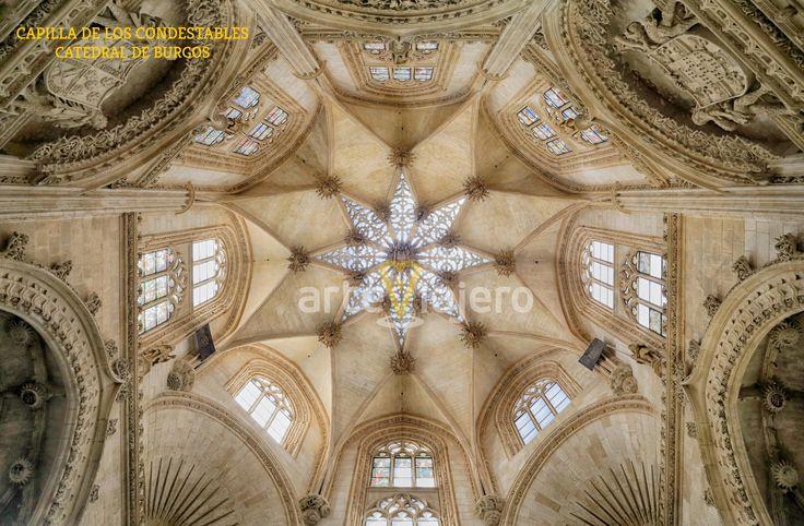 Catedral de Burgos, cúpula de la Capilla del Condestable