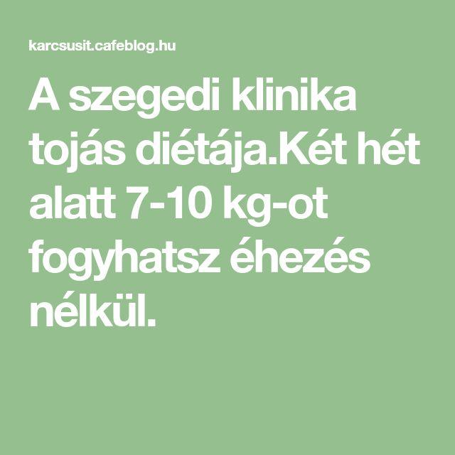 A szegedi klinika tojás diétája.Két hét alatt 7-10 kg-ot fogyhatsz éhezés nélkül.