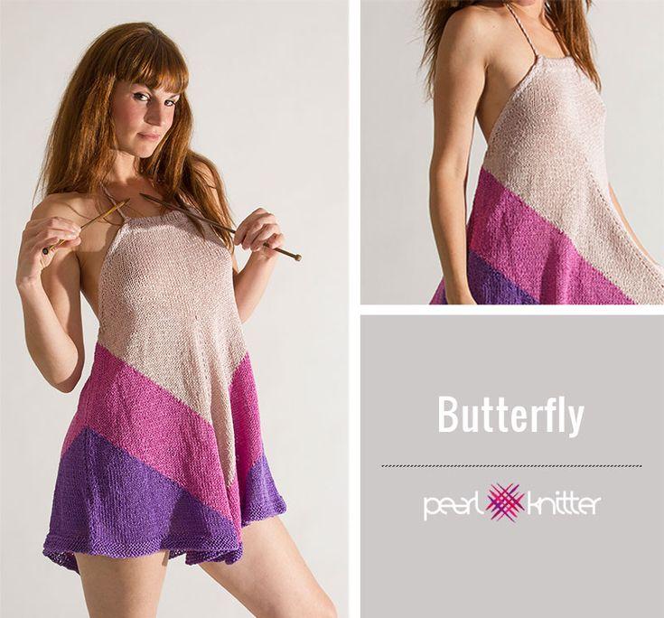 tejer patrones de verano en algodón