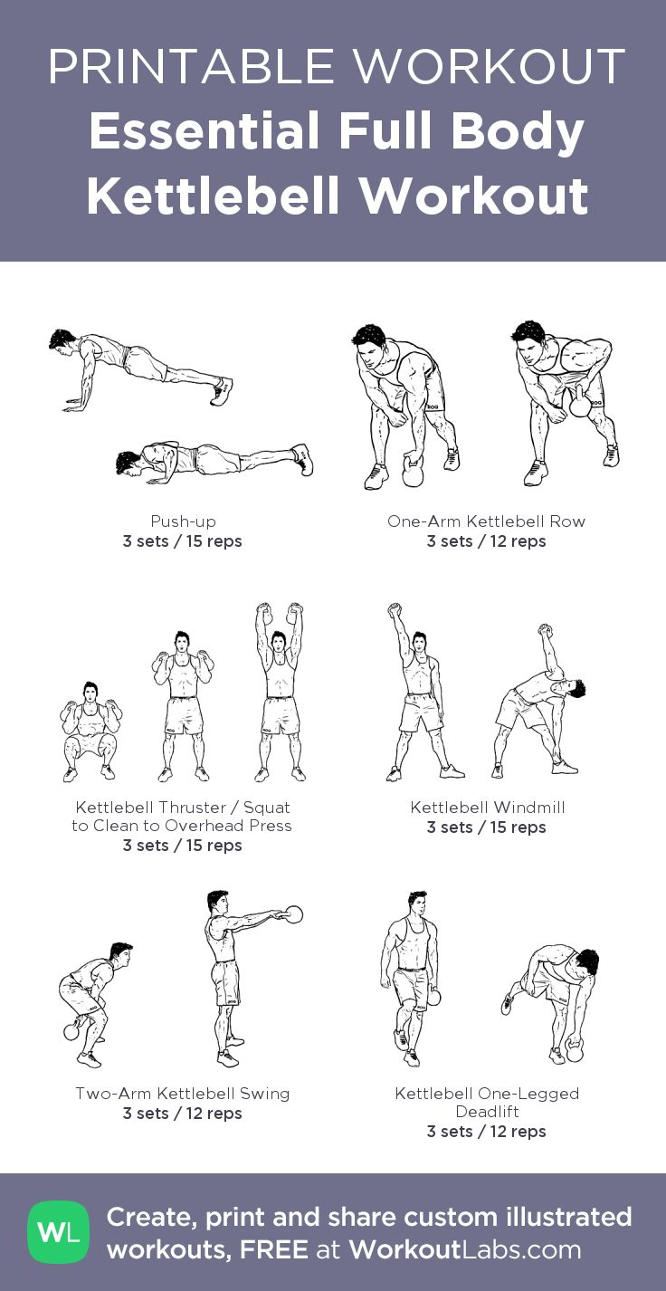 Photos Of Kettlebell Workout Exercises Pdf