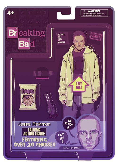 BREAKING BAD ACTION FIGURES - Jesse