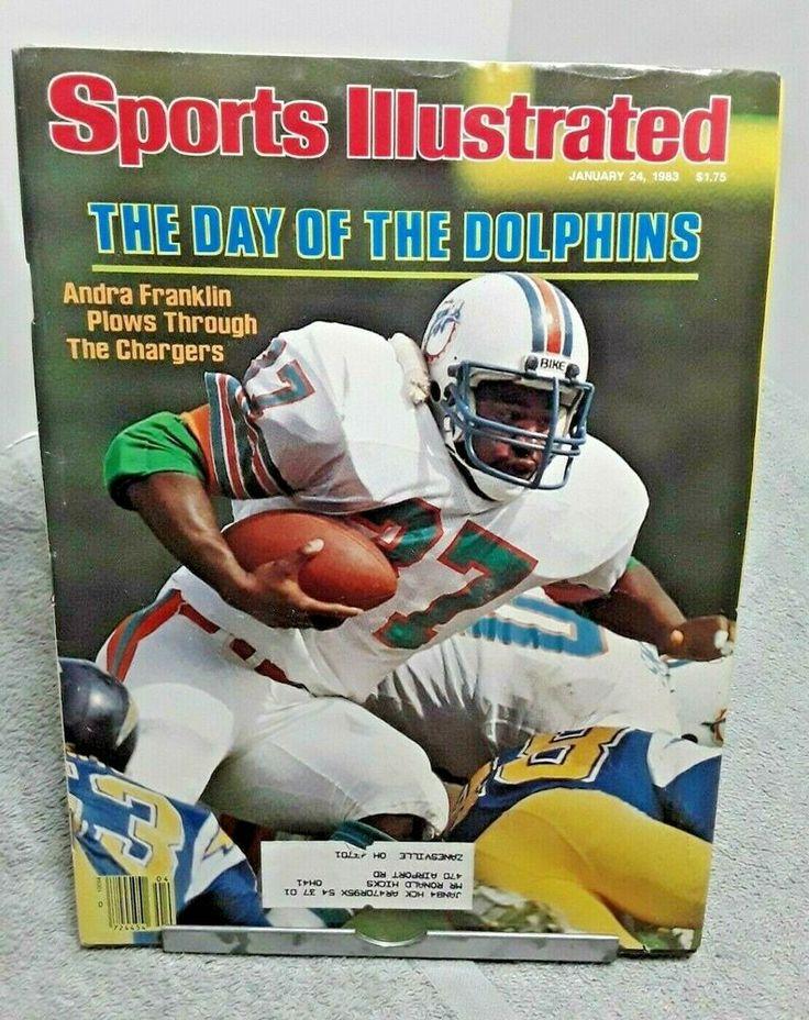 Sports Illustrated Magazine January 1983 Andra Franklin