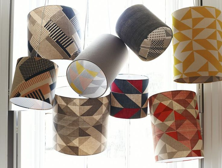 Tamasyn Gambell | Simple Geometry | Lampshades | www.tamasyngambell.com