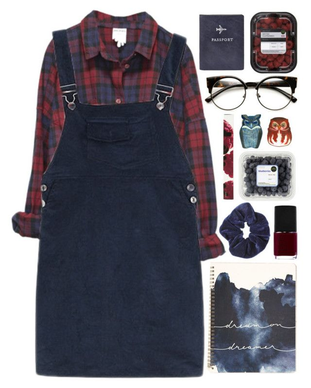 """""""I Of The Storm - Of Monsters And Men"""" by akp123 ? liked on Polyvore featuring Monki, Miss Selfridge, FOSSIL, INDIE HAIR, NARS Cosmetics and Korres"""