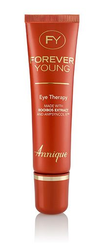 Made with Rooibos extract and Ampsyncol IIITM The first signs of ageing start in the delicate area around the eyes. Eye Therapy is a rich, nutritious eye cream, especially formulated for the minimising of fine lines and wrinkles around the eye area.