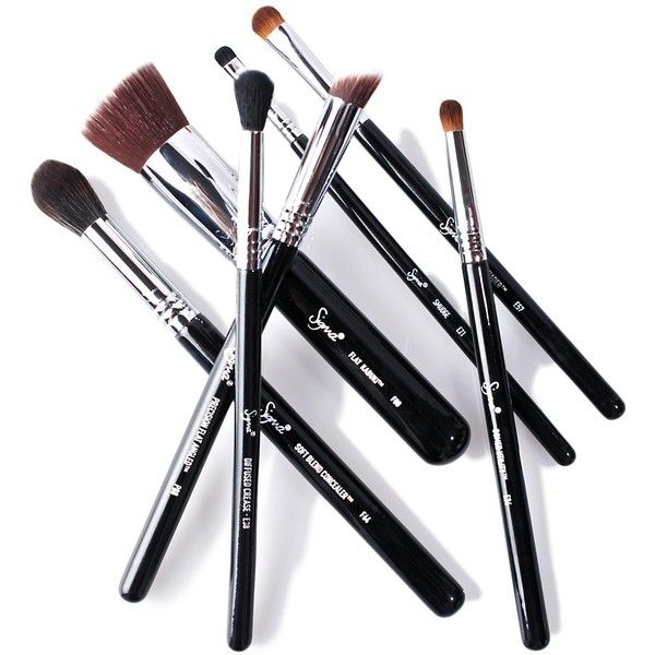 Sigma Best Of Sigma Brush Set (1.190.905 IDR) ❤ liked on Polyvore featuring beauty products, makeup, makeup tools, makeup brushes, sigma cosmetic brushes, sigma makeup brushes, set of makeup brushes and set of brushes