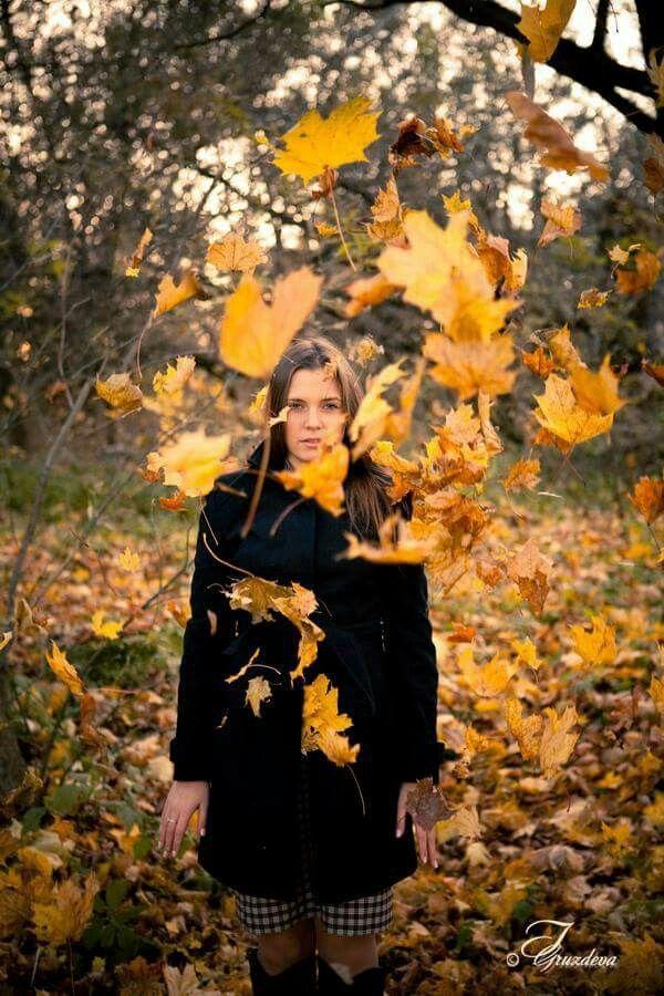 Ph.: I.Gruzdeva www.irinawedfoto.ru  Осенний вихрь...  Это не фотошоп - это мы, реально потрудились)