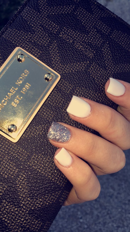 My solar nails. #nails #solarnails